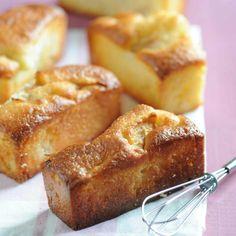 Découvrez la recette Petits moelleux pomme-cannelle sur cuisineactuelle.fr.