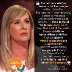 Globally it's acknowledged privatisation, austerity & trickle down economics are all fundamentally flawed #auspol