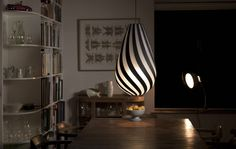 DROP, one of the newly designed for kitset lights by David Trubridge
