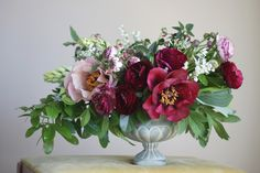 This designer is amazingly talented. Wishing I lived on a coast for more lush floral access.