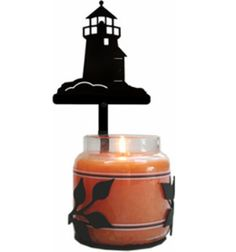 Lighthouse Large Jar Sconce