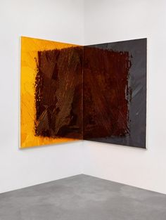 Jim Hodges Untitled (Shadow orange/black), 2015 Gladstone Gallery