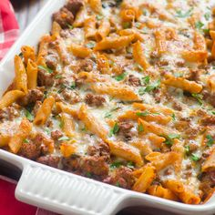 Light Turkey and Kale Pasta Bake Recipe