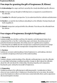 Worksheet Forgiveness Worksheets worksheets forgiveness and psychology on pinterest methods of ways forgiving worksheet