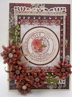 Happy To Be Back With Heartfelt Creations - Created by Lori Williams of Pinkcloud Scrappers