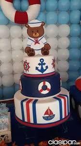 Résultats de recherche d'images pour «torta de osito marinero»