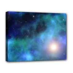 "Amazing Universe Canvas 14"" x 11"" (Framed x3)"