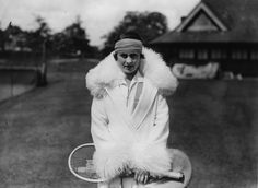 1920s - The Roaring Twenties said goodbye to the clothing constraints of the earlier decades and introduced loose, cocktail-inspired attire, as seen here on players who traded long skirts and wide brims for dropwaist, below-the-knee dresses and stylishly sporty bandeaux or visors.