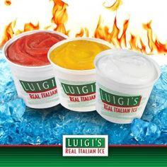 #Win yummy Luigi's Italian Ice; today only!