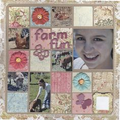 farm fun - Scrapbook.com