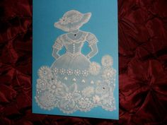 Vintage, Parchment Craft Card, Mum, Mothers Day,Sister,Friend,Thank You,Get Well £3.99