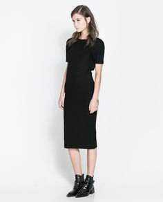 800k BACKLESS DRESS - Dresses - Woman | ZARA Indonesia