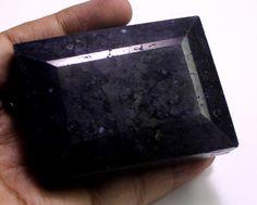 1455ct Big Rare Huge Certified Natural Blue Sapphire Rectangular Loose Gemstone