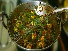 A Famous Restaurant Dish Kadai Paneer