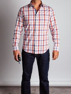 claiborne sportshirt and straight jeans mens musthaves