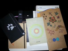 Sketch Books I use all the time.