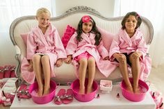 festa: spa da barbie