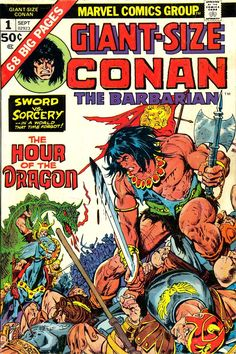 Giant-Size Conan The Barbarian #1