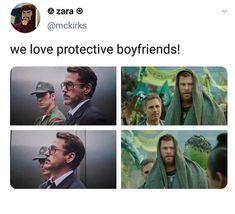 The Avengers, Avengers Memes, Marvel Jokes, Marvel Funny, Marvel Heroes, Marvel Characters, Marvel Dc, Protective Boyfriend, Superfamily Avengers