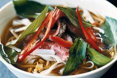 Fragrant Vietnamese beef noodle soup - delicious.