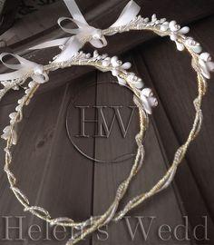 Stefana/wedding crowns/stefana gamou/rusticstefana Wedding Crowns, Etsy Seller, Romantic, Diamond, Creative, Unique, Handmade, Stock Wedding Crowns, Hand Made