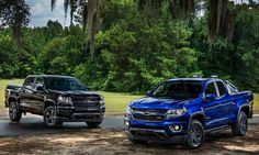 Chevrolet Colorado Midnight Edition and Z71 Trail Boss