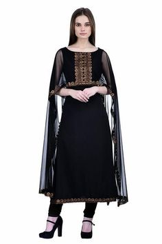 Shop now the latest suit on ladyindia.com Black Net With Attached Dupatta Cape Style Kurti Designer Black Georgette Kurtis https://ladyindia.com/collections/designer-kurtis/products/black-net-with-attached-dupatta-cape-style-kurti-designer-black-georgette-kurtis?variant=35806758541 #suit #latestsuit #designerkurtis