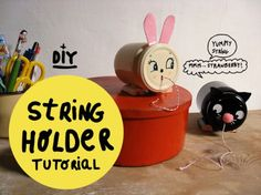 String holder - Happy things for Kids