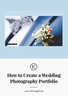 How to Create a Wedding Photography Portfolio with @Squarespace