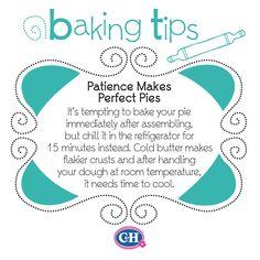 Patience Makes Perfect Pies👏 Baking Secrets, Baking Tips, Baking Recipes, Baking Hacks, Egg Recipes, Fall Recipes, Summer Recipes, Pie Dessert, Dessert Recipes