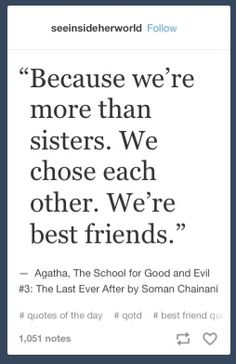 Sophie and Agatha - The School For Good and Evil Book Memes, Book Quotes, The School For Good And Evil, Good And Evil Quotes, Good Books, Books To Read, Book Fandoms, Book Nerd, Book Recommendations