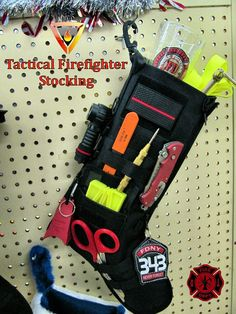 Thin Red Line Firefighter Tactical Stocking