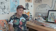 The work of Kristopher Kotcher, aka Frenemy, is the kind that provokes nostalgia; back to the days of Saturday morning cartoons, comic books and imaginary fr...