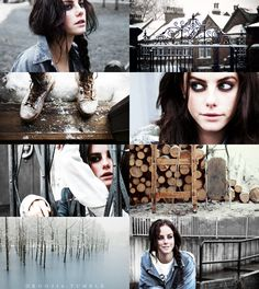 if the months had faces → Kaya Scodelario as January
