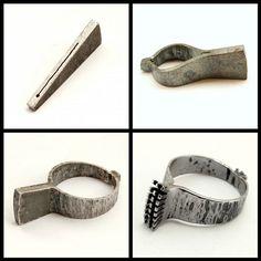 Crest ring in progress and ready | da Blind Spot Jewellery