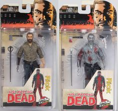 "Skybound Entertainment Exclusive The Walking Dead Comic Book ""A New Beginning"" Rick Grimes Action Figure by McFarlane Toys - Color and Bloody Black"