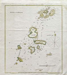 An old map of the Isles of Shoals