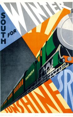 These 10 beautiful posters celebrate the golden age of rail travel   Posters   Creative Bloq