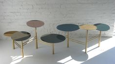 Pebble Tables by Nada Debs | From a unique collection of antique and modern coffee and cocktail tables at http://www.1stdibs.com/furniture/tables/coffee-tables-cocktail-tables/