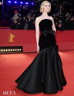 Elle Fanning Wore Armani Prive To The Roads Not Taken Berlinale Film Festival Premiere Armani Prive, Elle Fanning, Blackpink Fashion, Fashion Design, High Fashion, Fashion Trends, Regina King, Alex Perry, Joey King