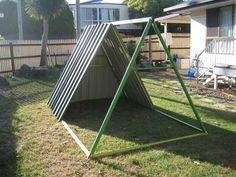 DIY-Repurposed-Swing-Set-Chicken-Coop-5