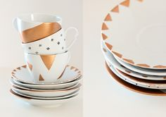Trendy Dining: DIY Ideas for Decorating Your Dinnerware