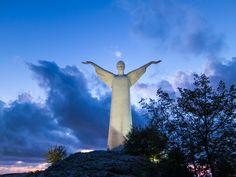 #Statua del #Redentore - #Maratea - Golfo di #Policastro / #Christ the #Redeemer of Maratea - Gulf Of Policastro @Rabite: Basilicata & Turismo Turistica  @Carolyn Helseth Basilicata  #IlikeItaly #ItaliaIT #Italy #sea #mare