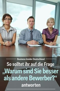 Im Bewerbungsgespräch können ziemlich fiese Fragen fallen, auf die ihr gut vor… The interview can be quite nasty questions to which you should be well prepared. We'll tell you when the interview asks you why you're better than any other… Weiterlesen → Interview, Life Guide, Money Spells, Motivational Words, Get The Job, Job Search, Team Building, Self Improvement, Helpful Hints