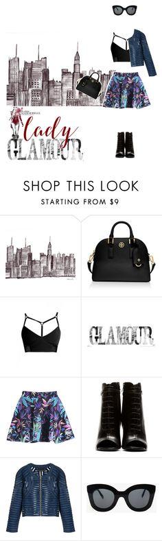 . by lunalobina on Polyvore featuring moda, Cynthia Rowley, Yves Saint Laurent, Tory Burch and CÉLINE