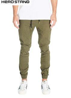 Designer Mens Harem Joggers Sweatpants Elastic Cuff Drop Crotch Drawstring  Biker Joggers Pants For Men Black Red Green