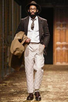 Umit Benan Menswear Fall Winter 2014 Paris - NOWFASHION