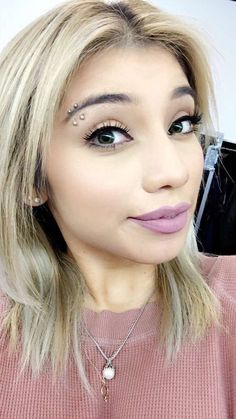 Kara Heying ☼ Facial Piercings, Types Of Piercings, Lip Piercing, Piercing Tattoo, Kirsten Maldonado, Beauty Tips, Beauty Hacks, Perfect People, Pentatonix