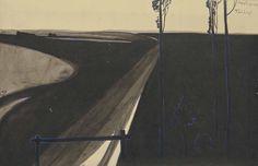 1902-1903_Театр Метерлинк (Theatre Maeterlinck)_15.2 х 24.1_бумага, тушь и гуашь_Частное собрание