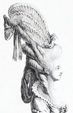 Marie-Antoinette wow could you imagine having to do your hair like this